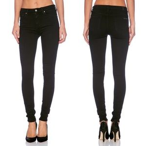 7 For All Mankind High Waist Skinny Slim Illusion